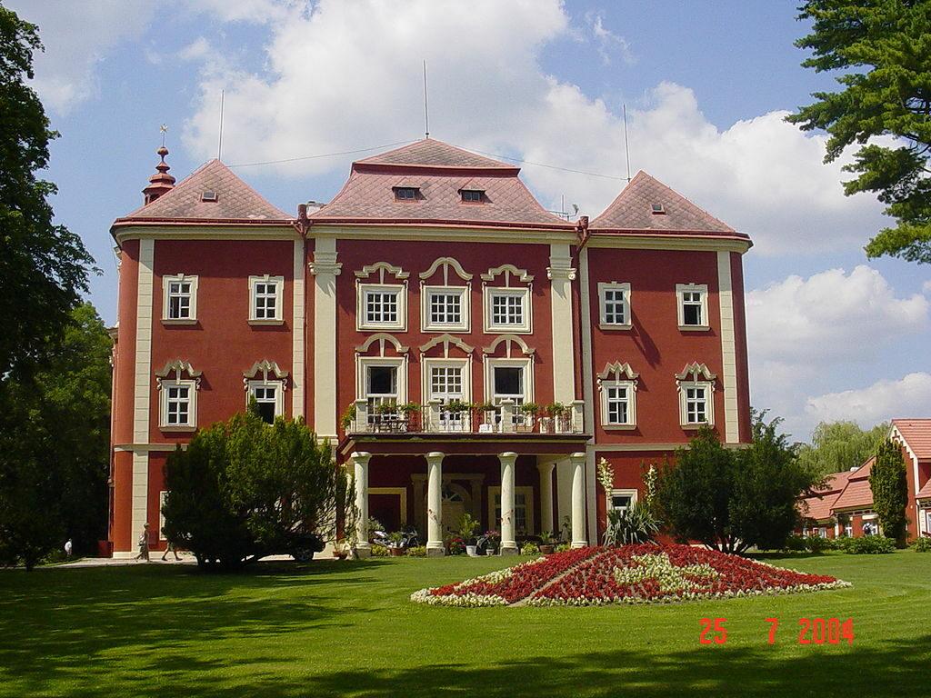 zámek Dětenice