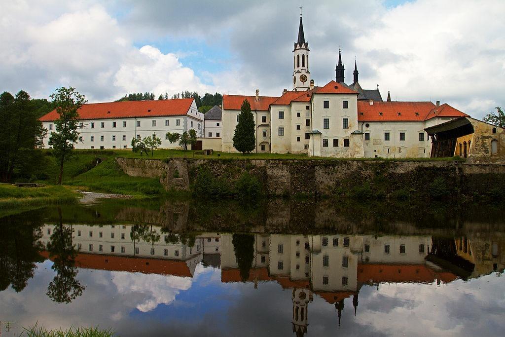 klášter Vyšší Brod