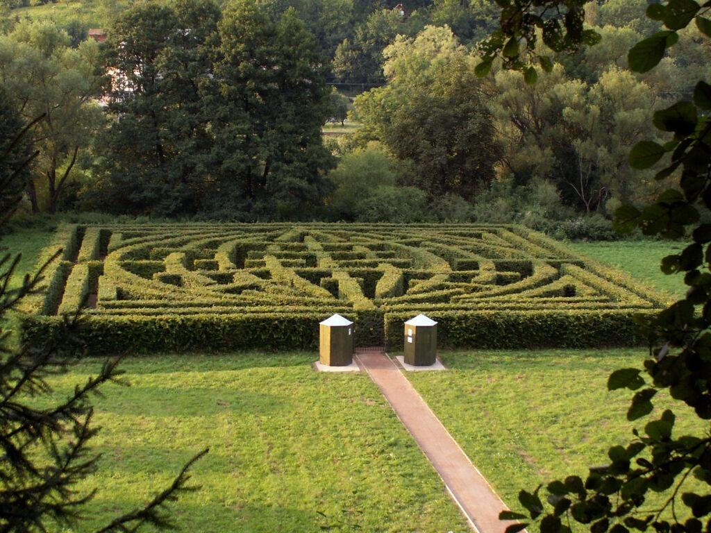 bludiště Brandýs nad Orlicí